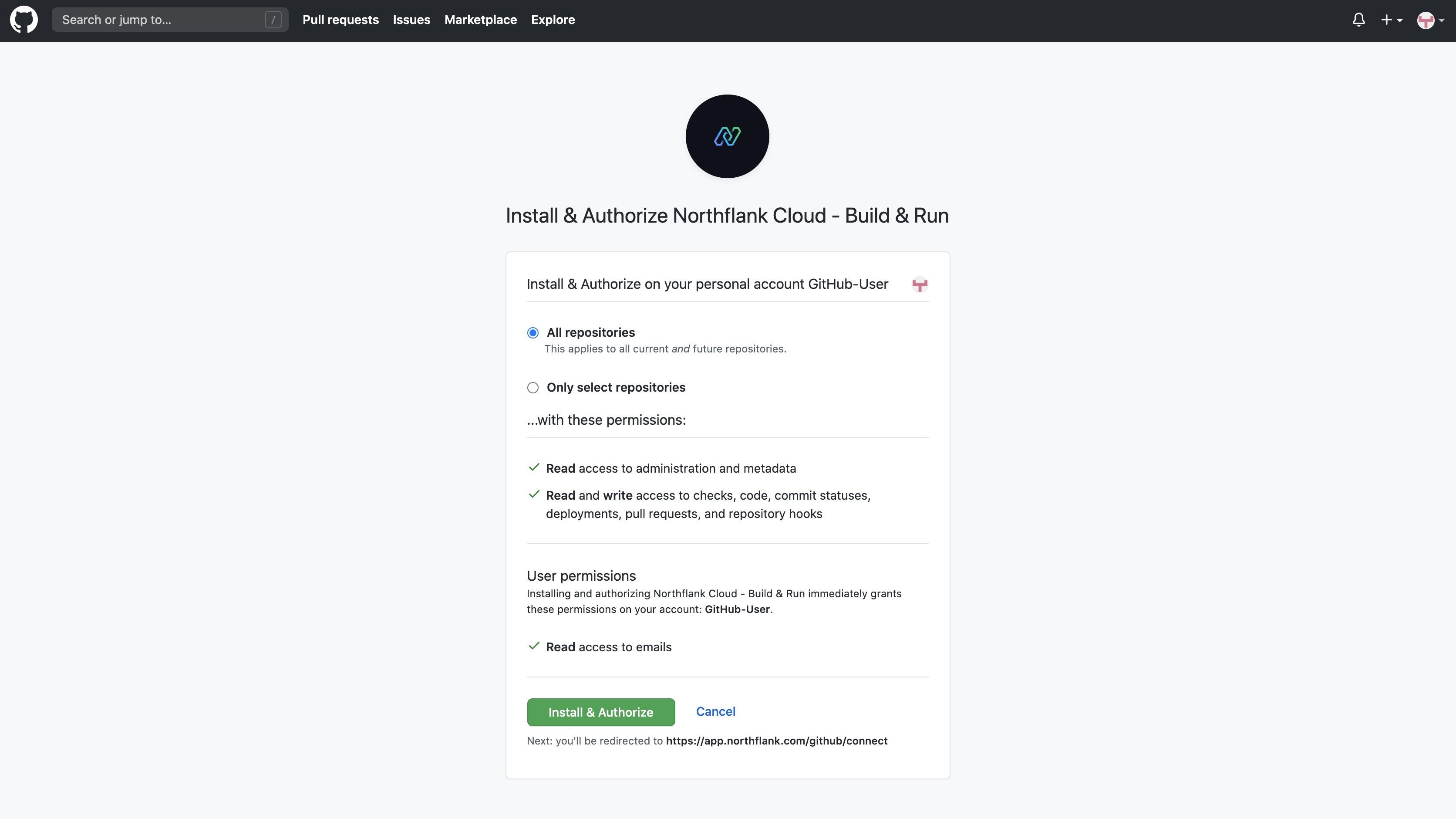 GitHub Authorisation